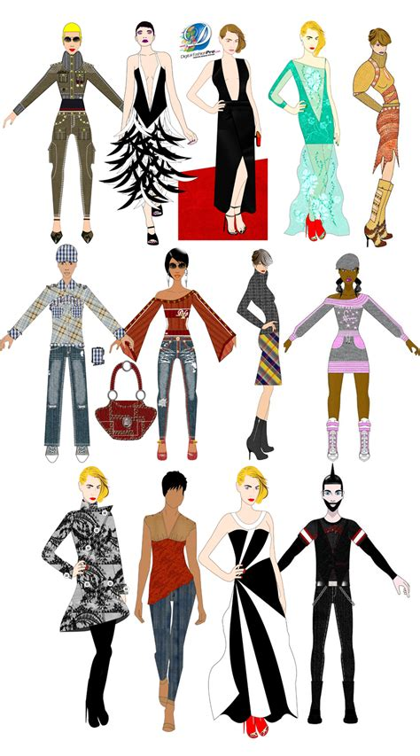 fashion illustration pro fashion design software digital fashion pro clothing