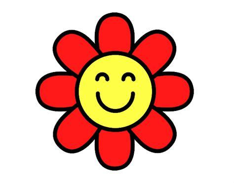 imagenes flores simples desenho de flor simples pintado e colorido por usu 225 rio n 227 o