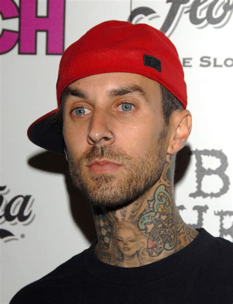 how do they put the tattoo on travis head for vikings travis barker released from hospital today s evil beet
