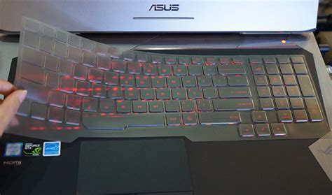 Asus Rog Laptop Keyboard Protector Cover Pelindung 15 17 Inch clear tpu keyboard cover guard for asus g752 g752vt g752vl