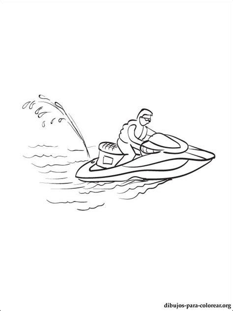imagenes para colorear water dibujo de moto de agua para colorear dibujos para colorear
