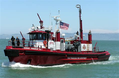 phoenix boats wiki file san francisco s fireboat number 1 the phoenix a