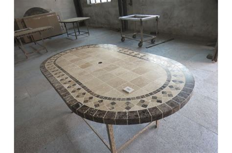 71quot 94quot oval outdoor stone patio dining table marble