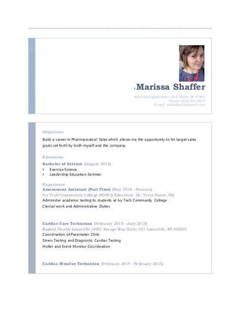 marissa shaffer resume