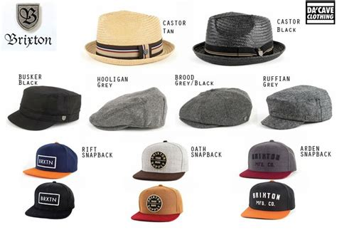 brixton brand hats now available da cave store singapore