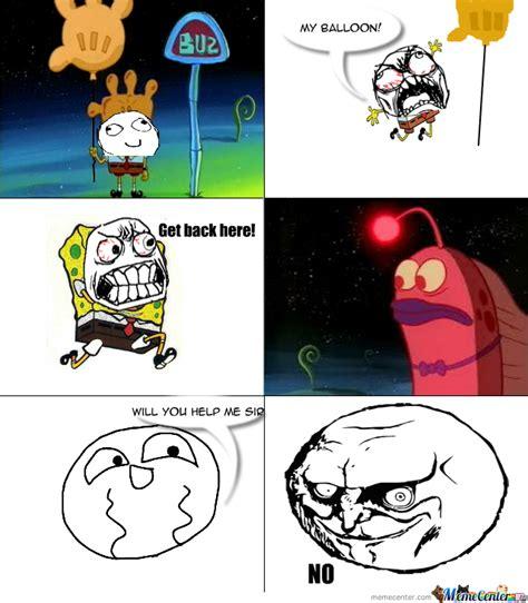 Meme Comic Spongebob - i changed it up a little spongebob rage comic by jacob