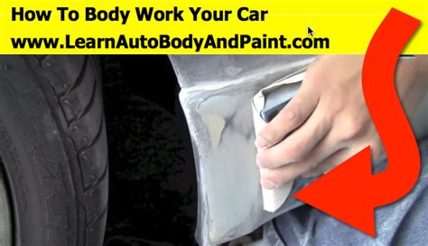 how can i learn to work on cars 2005 maserati spyder parking system how to body work and paint a car part 1