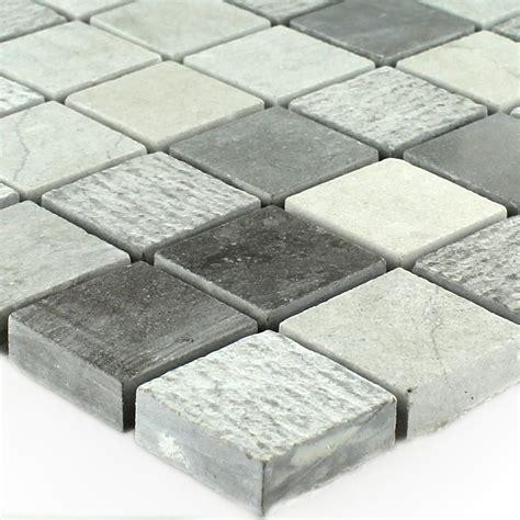 steinfliesen grau kalkstein stein mosaik fliesen beige grau mt51296