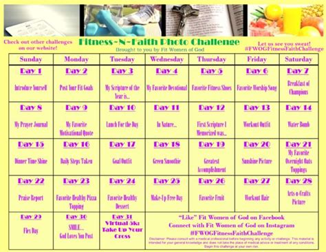 30 Day Faith Detox Challenge by Fit Of God Challenges Fit Of God