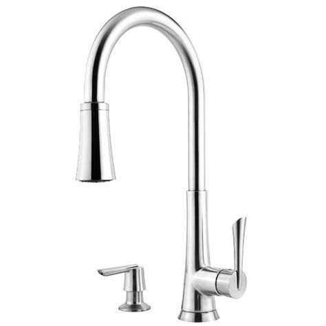 2 hole kitchen faucet pfister mystique 1 handle 1 2 3 or 4 hole pull down