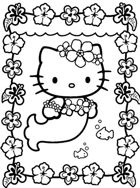 printable coloring pages hello printable mermaid coloring pages coloring me
