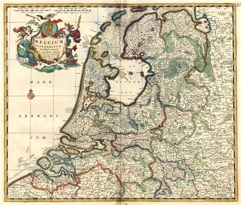 northern netherlands map 164 best images about golden age maps mappen on