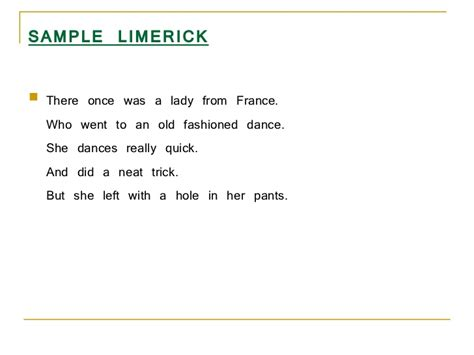 how to write a limerick poem template exles of limerick poems