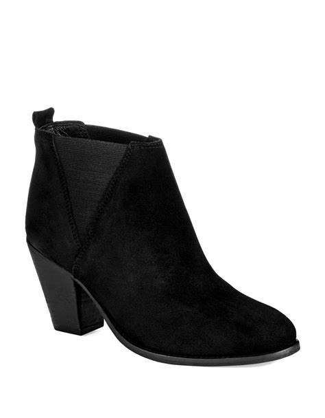 charles by charles david boots charles by charles david vaxio ankle boots in black lyst