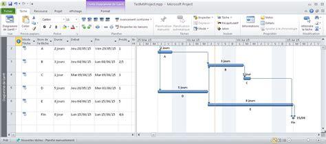 diagramme de gantt ms project 2010 tutorial ms project 2010