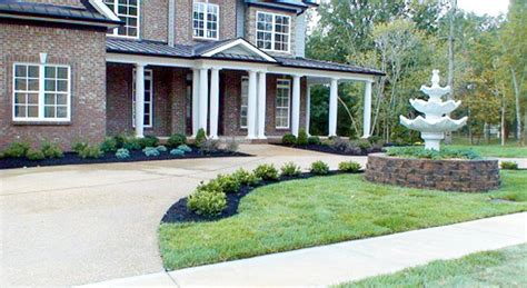 clarksville residential landscaping woffords nursery of