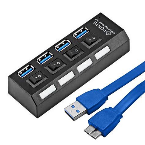 Usb Hub 4 Ports 3 0 portable micro usb hub 3 0 speed 5gbps 4 ports mini