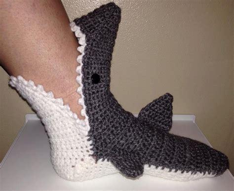 pattern shark socks shark socks or slippers