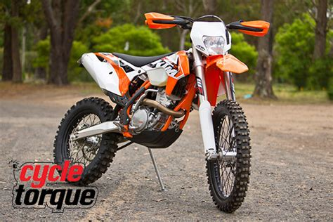 Ktm 350 Supermoto Cycle Torque Test 2015 Ktm 350 Exc F