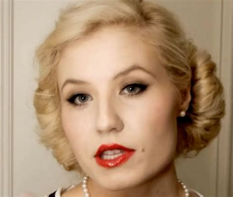 hair and makeup in the 1950s authentic 1950s make up tutorial sunday beauty school