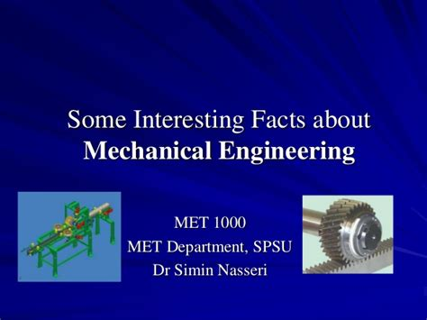 interesting facts  mechanical