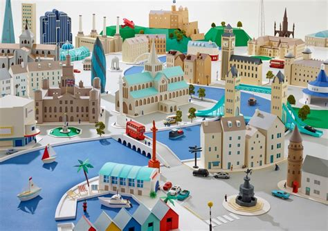 How To Make A Paper City - fabulous paper city by hattie newman archiobjects