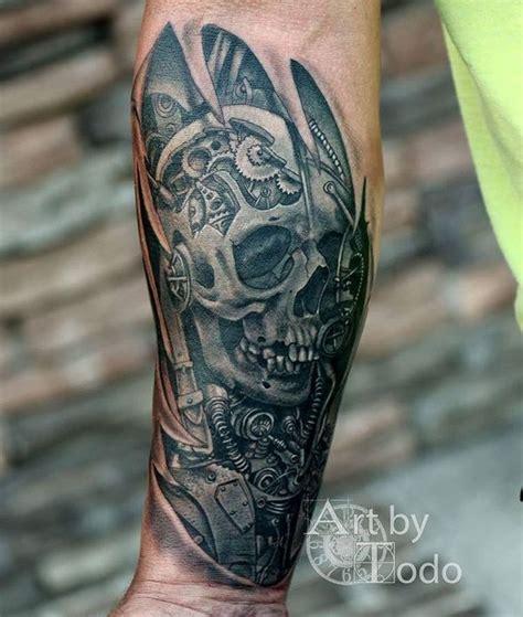 biomechanical bones tattoo biomechanical tattoos designs best ideas for you