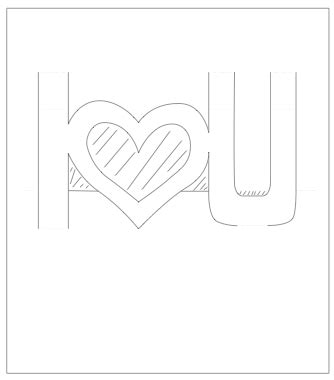 templates for apple pop up card pop up valentines card template i u paper kawaii
