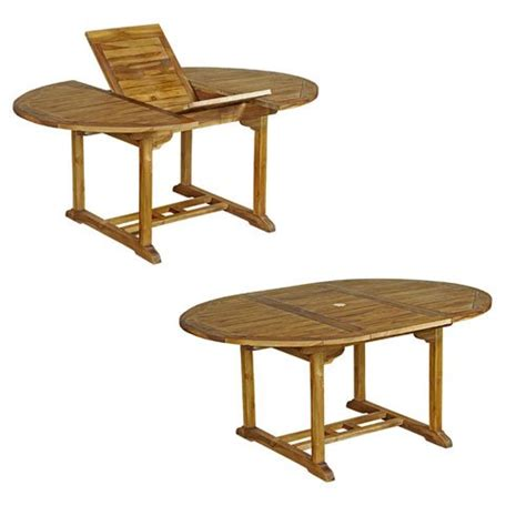 Table Ronde 6 Personnes 368 by Table De Jardin Bois Jardin Et Patio