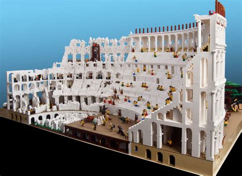 Pieces Of Architecture 200 000 Colosseum Is The Most