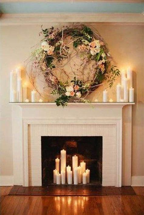 fireplace candles the secret to decorating a fireplace fireplaces focal