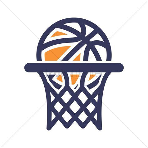 basketball clipart vector basketball hoop icon vector image 1984920 stockunlimited