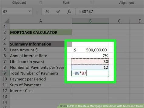 can i make a mortgage payment with a credit card 3 ways to create a mortgage calculator with microsoft excel
