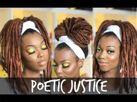how to wrap african bareds poetic justice head wrap tutorial for braids twists