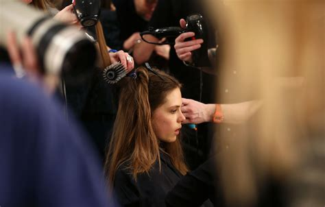Gets Hair Done by Highlights From The Fashion Week World