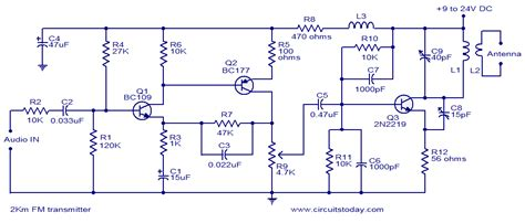 how to build a 2 transistor fm transmitter and range circuit 09 26 10