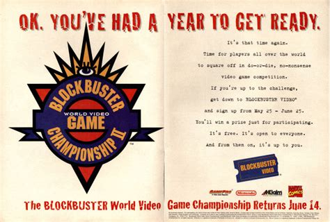 Blockbuster Gift Card Redemption - looking back at blockbuster part 2 the world video game chionships