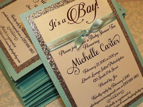 Baby Shower Handmade Invitations - baby shower invitations theruntime