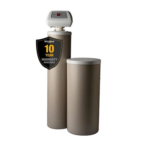 lowes water softener shop whirlpool pro series high capacity 60000 grain water softener at lowes