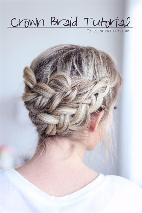 french crown braid 3 new ways to add bobby pins to your crown braid tutorial twist me pretty