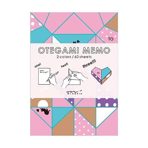 Notebook Origami - notebook with origami correspondence sheets by berylune