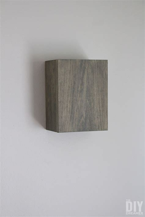 diy wall light fixtures how to build wall light fixtures diy wood wall sconces