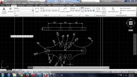 youtube tutorial autocad 2013 tutorial como acotar en autocad 2013 facil y rapido youtube