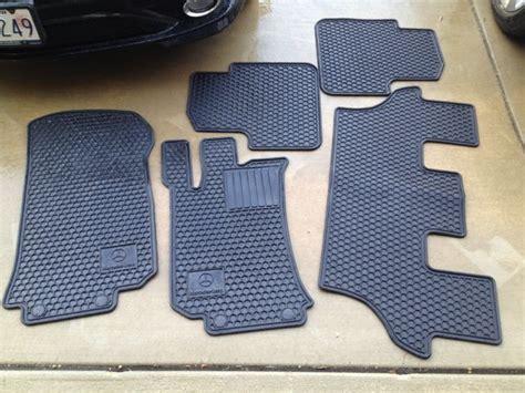 Fs 21009 Black fs w251 r class oem rubber floor mats black 100 s h