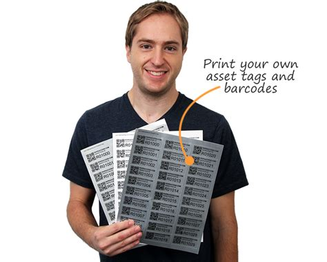printable asset labels laser printable barcode label sheets for custom barcode labels