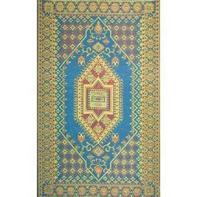 Mad Mats Outdoor Rugs Outdoor Area Rug Or Kitchen Mat 5 X 8 Turkish Aqua Patio Indoor Outdoor Rugs Reversible