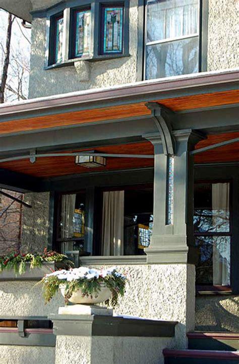 elements   porch design   arts crafts house