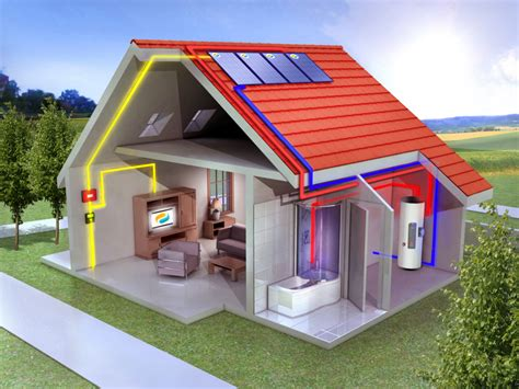 Panneau Solaire Pour Maison 1166 by Le Solaire Hybride 231 A Chauffe Pages Energie