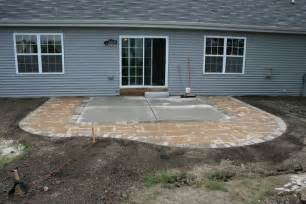 Extend Patio With Pavers Diy Extending Concrete Patio With Pavers Paver Patio For The Home Concrete