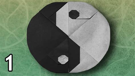 origami yin yang origami chi symbol by sy chen folding